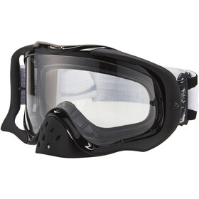 Oakley Crowbar MX Goggles jet black speed/clear